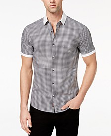 Men's Stretch Gingham Check Shirt