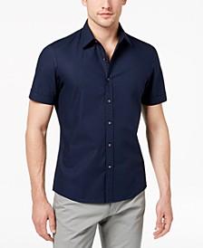 Men's Solid Stretch Shirt
