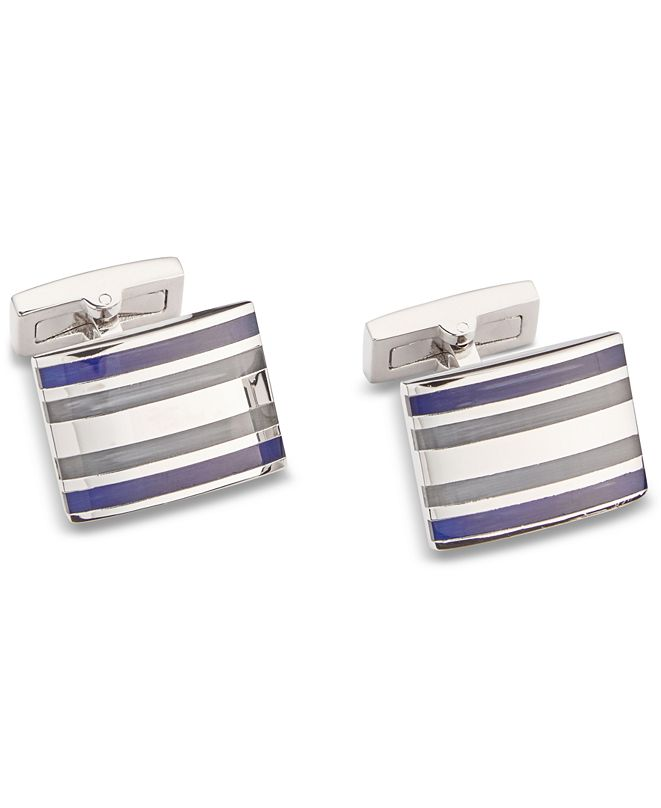 Ryan Seacrest Distinction Men's Cat's Eye Cuff Links, Created for Macy's