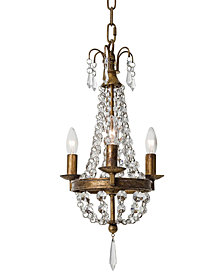 Regina Andrew Design Mini Paris Chandelier With Bright Crystals