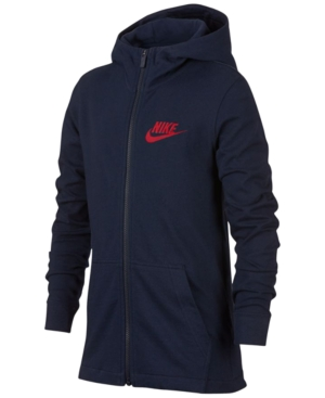 Nike Full-Zip Graphic-Print...
