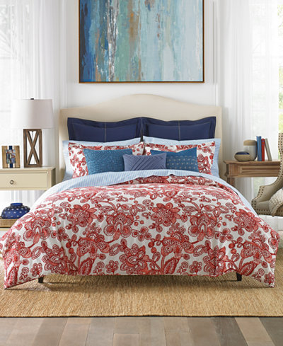 Tommy Hilfiger Aquinnah Floral Bedding Collection
