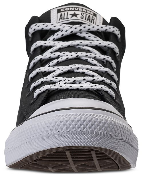 88837b1eeba465 ... Converse Men s Chuck Taylor Street Mid Casual Sneakers from Finish Line  ...