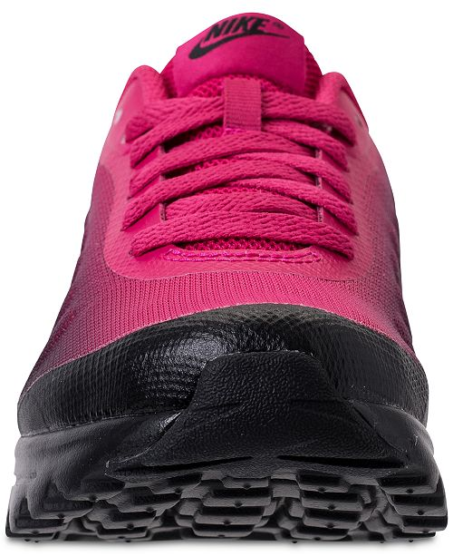 8b53d9f0ad ... Nike Big Girls' Air Max Invigor Print Running Sneakers from Finish ...