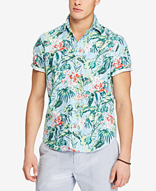 Polo Ralph Lauren Men's Big & Tall Classic Fit Printed Shirt