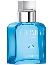 Receive a Complimentary Deluxe Mini with any large spray purchase from the Calvin Klein Men's Eternity fragrance collection