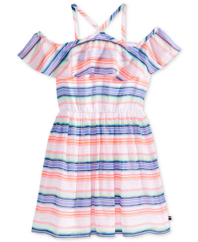 Tommy Hilfiger Striped Dress, Big Girls