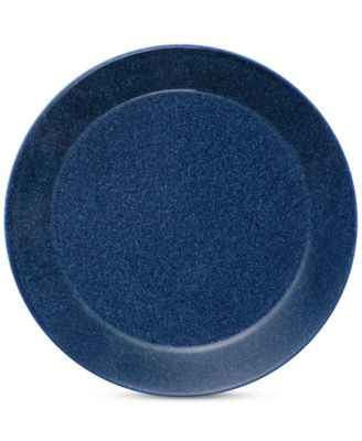 Teema Dotted Blue Bread & Butter  Plate