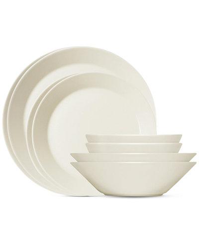Iittala Teema White 16-Pc. Starter Dinnerware Set, Service For 4