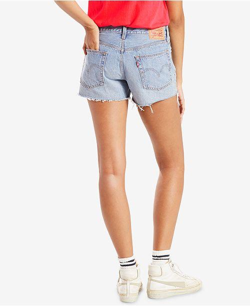 40cee924 Levi's 501® Cotton High-Rise Denim Shorts & Reviews - Shorts ...