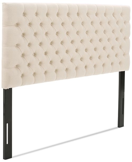 Noble House Gallow Adjustable Full/Queen Headboard, Quick Ship