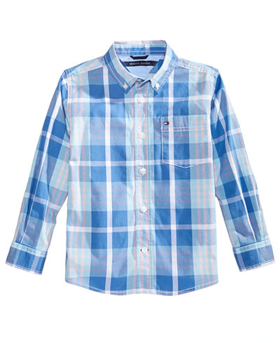 Tommy Hilfiger Stan Plaid Shirt, Big Boys