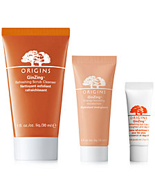Receive a FREE 3pc GinZing Trio with $50 Origins Purchase!