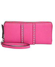 I.N.C. Hazell Zip Around Wristlet, Created for Macy's