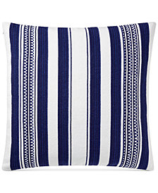 "Lauren Ralph Lauren Nora Serape Stripe 20"" Square Decorative Pillow"