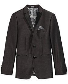 DKNY Black Dot Tuxedo Jacket, Big Boys