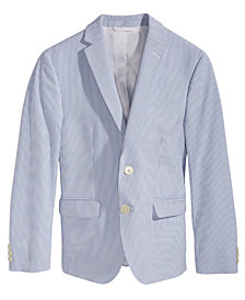 Lauren Ralph Lauren Seersucker Suit Jacket, Big Boys