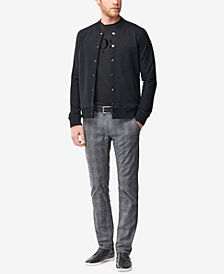 BOSS Men's Slim-Fit Glen Check Pants