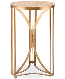 Spinner Large End Table, Quick Ship