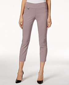 Petite Tummy-Control Pull-On Capri Pants, Created for Macy's