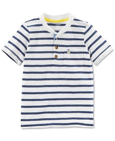 Carter's Striped Cotton Henley, Little Boys