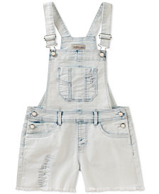 Calvin Klein Denim Shortalls, Big Girls