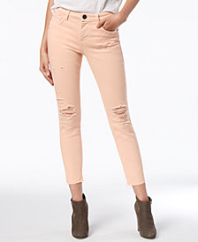 STS Blue Emma Mid Rise Released-Hem Skinny Jeans