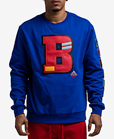 Black Pyramid Men's Big B Patched Crew Sweatshirt