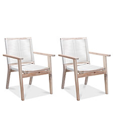 Jeslen Outdoor Dining Chair (Set Of 2), Quick Ship