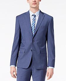 DKNY Men's Modern-Fit Stretch Neat Suit Jacket
