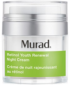 Retinol Youth Renewal Night Cream, 1.7-oz.