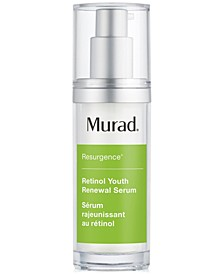 Resurgence Retinol Youth Renewal Serum, 1-oz.