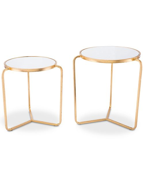 Atlen End Table (Set Of 2), Quick Ship