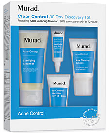 Murad 4-Pc. Acne Control Clear Control 30 Day Discovery Set