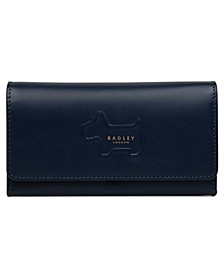 Shadow Large Flapover Leather Wallet