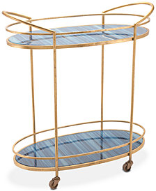Zaphire Bar Cart, Quick Ship