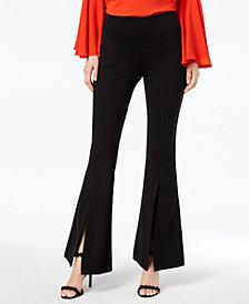 I.N.C. Petite Split-Leg Flare Pants, Created for Macy's