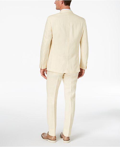 659b425209d4 ... Double-; Tallia CLOSEOUT! Orange Men's Modern-Fit Light Yellow  Délavé ...