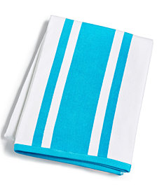 Hotel Collection Resort Cotton Beach Towel, Created for Macy's
