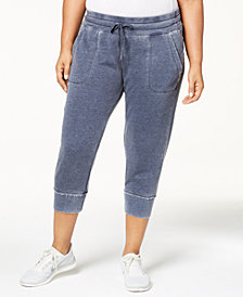 Calvin Klein Performance Plus Size Fleece Sweatpants