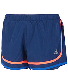 adidas Relay Race Shorts, Big Girls