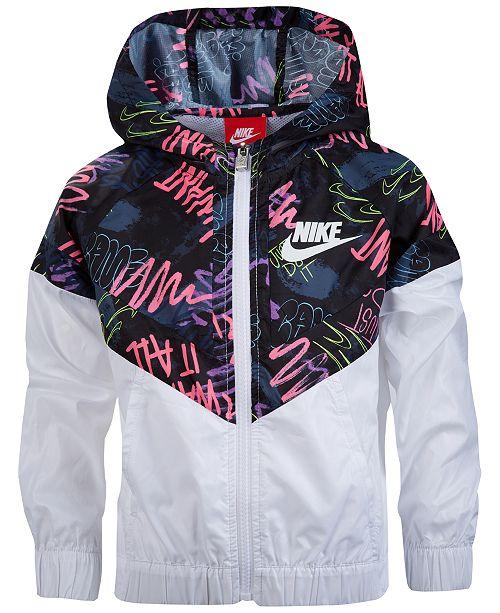 Nike Printed Windbreaker 5fd82a0bd