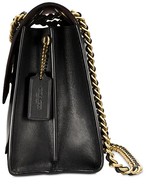 Parker Small Shoulder Bag In Refined Leather