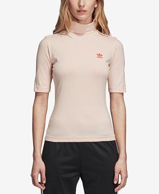 Adidas - Amore Finto Collo T - Adidas Shirt Al Massimo Le Donne Macy's bb779e