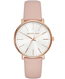 Women's Pyper Blush Leather Strap Watch 38mm