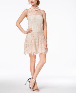 Nanette Lepore Embroidered Illusion Dress 5865141