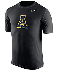 Nike Men's Appalachian State Mountaineers Dri-Fit Legend 2.0 Logo T-Shirt