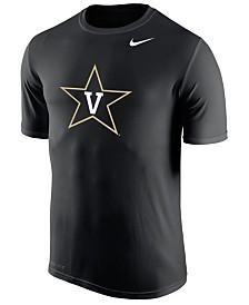 Nike Men's Vanderbilt Commodores Dri-Fit Legend 2.0 Logo T-Shirt