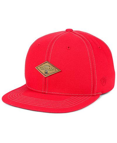 Top of the World Maryland Terrapins Diamonds Snapback Cap