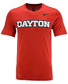 Nike Men's Dayton Flyers Dri-Fit Legend Wordmark T-Shirt